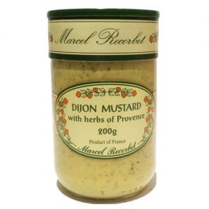 Marcel Recorbet Dijon Mustard with Herbs of Provence 200g