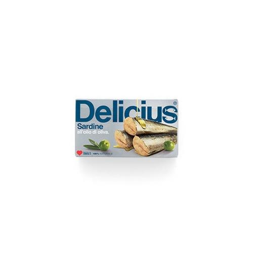 Delicius Sardines in Olive Oil 120g