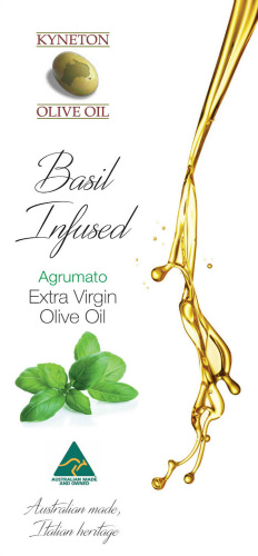 Kyneton Basil Infused Extra Virgin Olive Oil