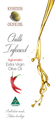 Kyneton Chilli Infused Extra Virgin Olive Oil