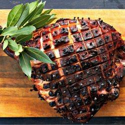 Baked Glazed Ham