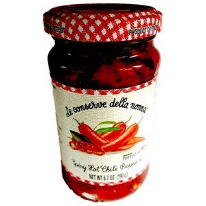 Le Conserve della Nonna Sliced Hot Chilli Peppers