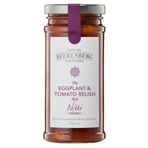 Beerenberg Eggplant and Tomato Relish