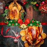Christmas Chicken and Turkey