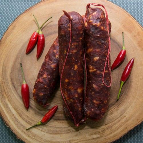 Hot Cacciatore Hunters Sausage