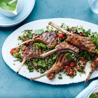 Lamb Cutlets with Tabbouleh