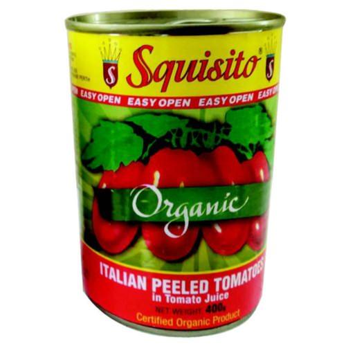 Squisito Organic Whole Peeled Tomatoes
