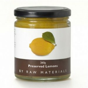 Raw Materials Preserved Lemons