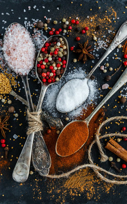 Seasonings, Spices and Spice Mixes