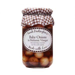 Sarah Darlington's Baby Onions in Balsamic Vinegar