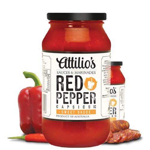 Attilio's Red Pepper Sweet Sauce
