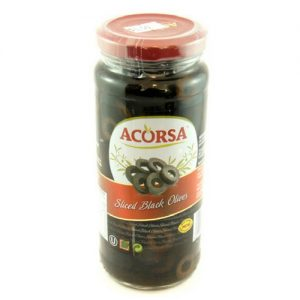 Acorsa Sliced Black Olives