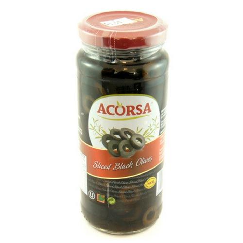 Acorsa Sliced Black Olives