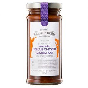 Beerenberg Slow Cooker Creole Chicken Jambalaya