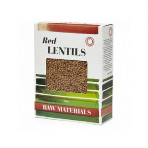 Raw Materials Red Lentils