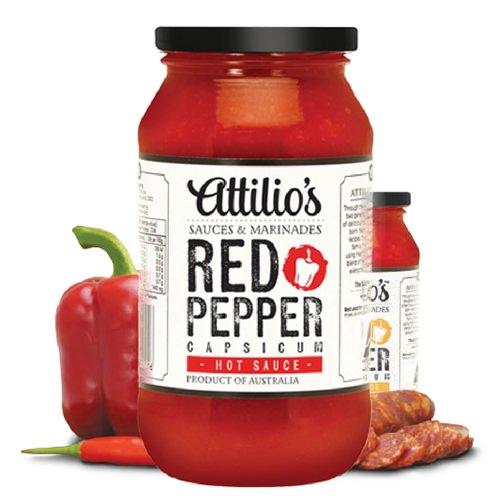 Attilio's Red Pepper Classic Hot Sauce