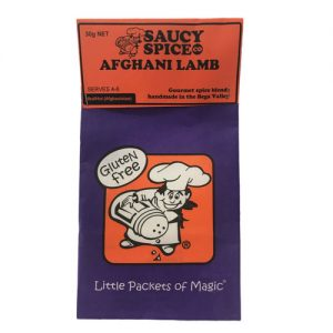 Saucy Spice Co Afghani Lamb
