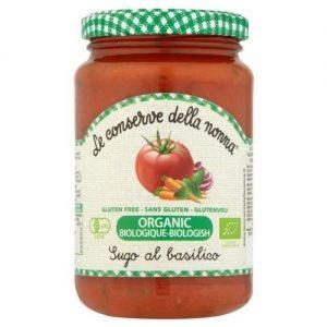 Le Conserve Della Nonna Organic Tomato & Basil Sauce